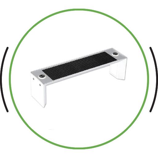 Eco Renewable Energy Mini Smart Bench