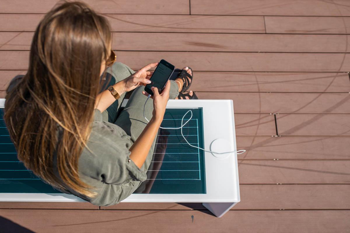 SSB Mini Eco Renewable Energy | Smart Solar Benches